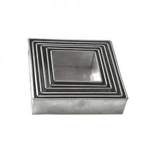 Square Cake Pans Gi Material